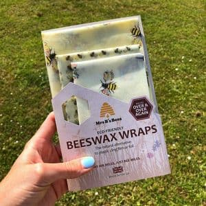 BEES WAX WRAP TRIPLE PACK - ECO ALTERNATIVE TO CLINGFILM