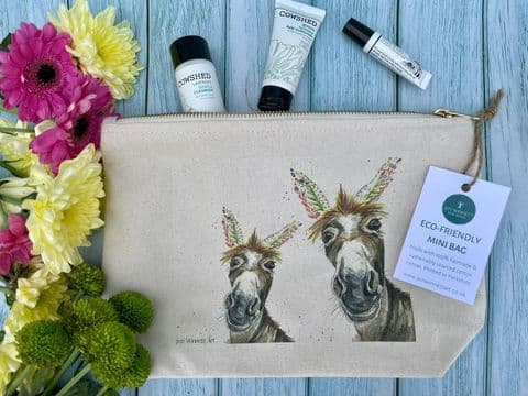 DYLAN THE DONKEY LINED  MINI BAG