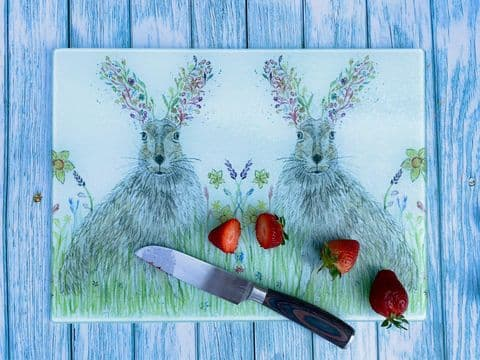 HORACE THE HARE CHOPPING BOARD