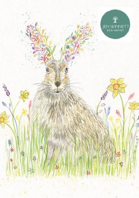 HORACE THE HARE  - SIGNED PRINT