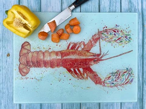 LARRY THE LOBSTER CHOPPING BOARD