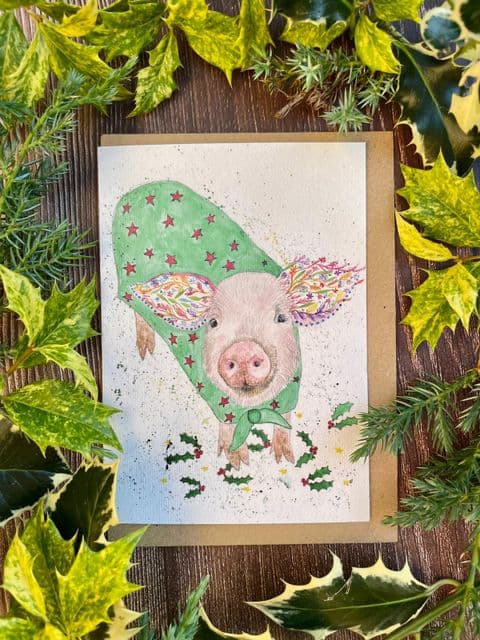 PIG IN A BLANKET ECO-CARD