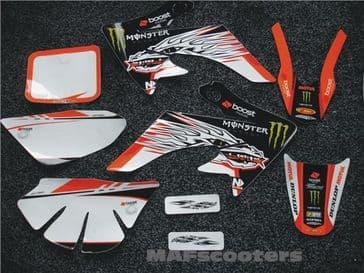 3M Graphics/Sticker Pack Monster Boost CRF Pit/Dirt/MX bike PKDH13