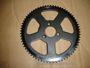 Back sprocket 6mm pitch petrol /electric  MAF  Evolution scooters Etc 54 teeth140 outler Dia
