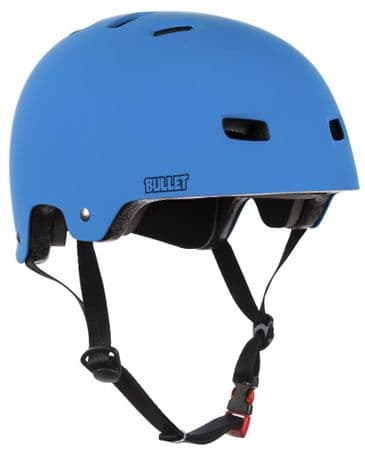 Bullet Deluxe Helmet T35 Youth 49-54cm Matt BLUE