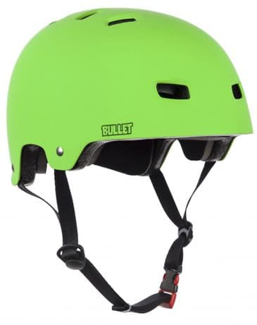 Bullet Deluxe Helmet T35 Youth 49-54cm Matt Green