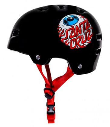 Bullet Santa Cruz Eyeball Gloss Black 49-54cm