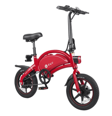 DYU D3+ VIP Electric Bike10.4 Lithium Battery High spec Road Legal - Red