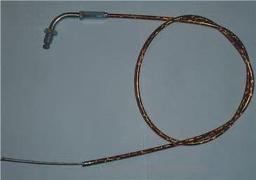 Gold Throttle cable for Petrol pit and Dirt bikes-01B