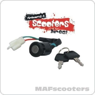 Key Barrel E Scooters 2 wire electric / petrol scooters quads go-cart Etc