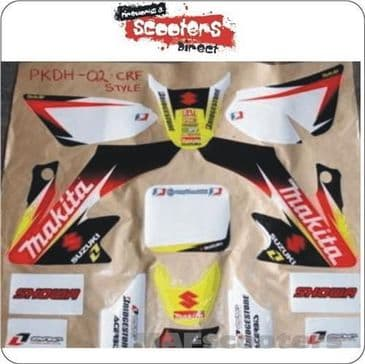 Makita  Graphics high spec sticker pit dirt bike  02