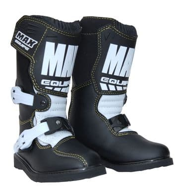 Max Kids Off Road Boots - Black