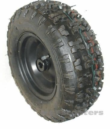 Mini petrol and electric quad Back Drive wheel complete with tyre 13-500-6