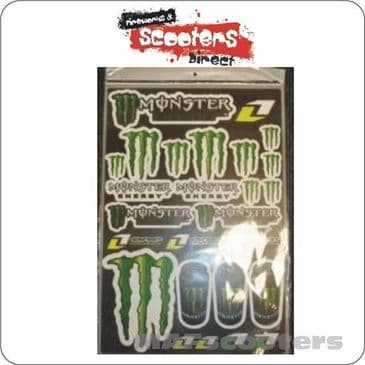 Monster Graphics  sticker pack pit dirt quad bike