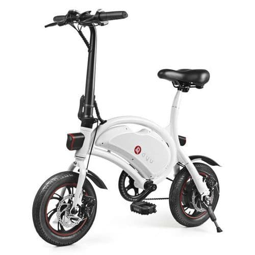New model DYU DS2 +2 VIP Electric Bike 10.4 Lithium Battery High spec Road Legal colour White