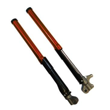 Suspension forks left and right (Petrol and Electric dirt bike) RED