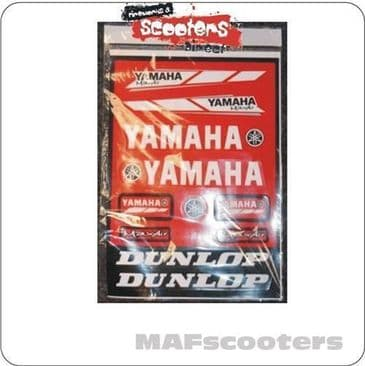 Yamaha Graphics sticker pack pit dirt quad bike etc RD 46x31