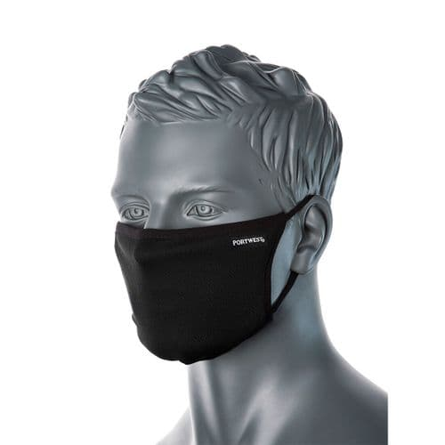 3-Ply Fabric Face Mask (Pk25)