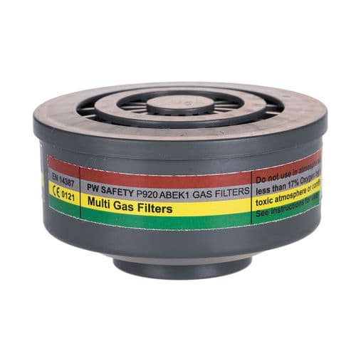 ABEK1 Gas Filter Special Thread Connection
