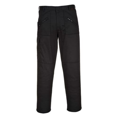 Action Trousers Black