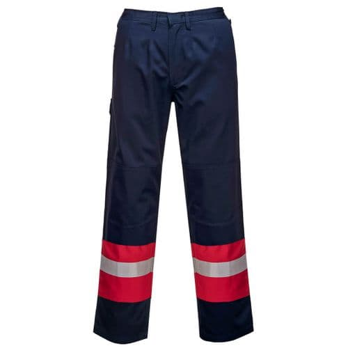 Bizflame Plus Trouser Navy/Red