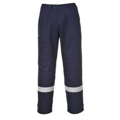 Bizflame Plus Trouser Navy Tall