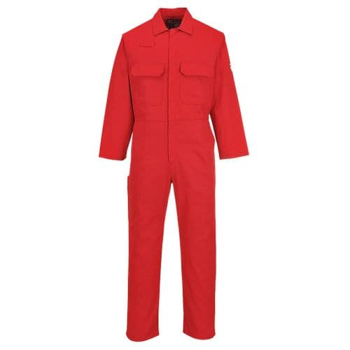 Bizweld FR Coverall Red