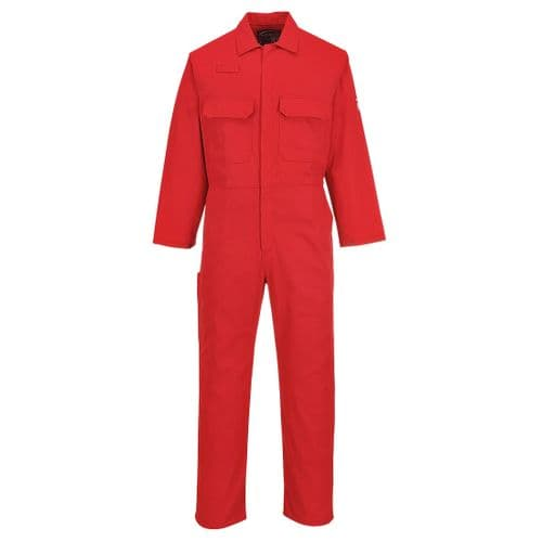 Bizweld FR Coverall Red Tall