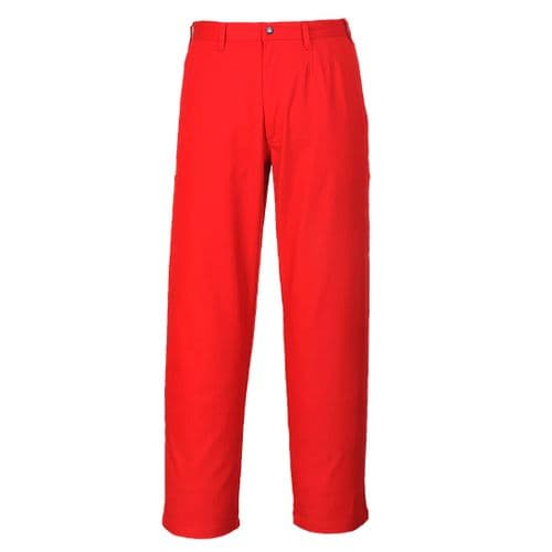 Bizweld Trousers Red Tall