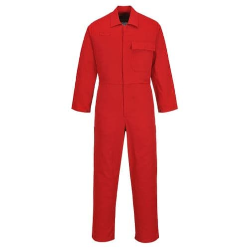 CE Safe-Welder Coverall Red