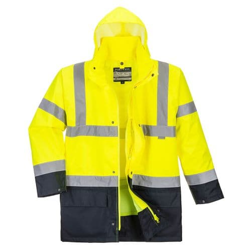 Essential 5-in-1 Two-Tone Jacket Yellow/Black