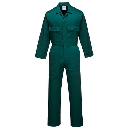 Euro Work Coverall Bottle Green