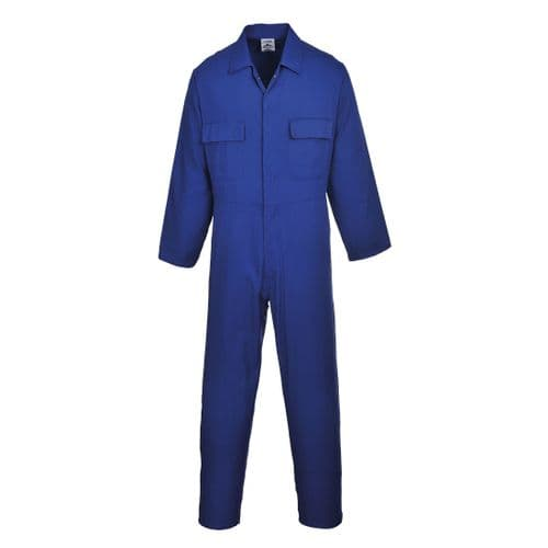 Euro Work Coverall Royal Blue