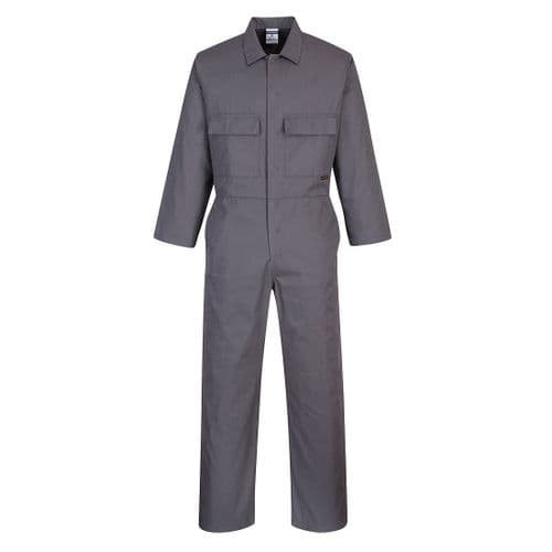 Euro Work Coverall Zoom Grey