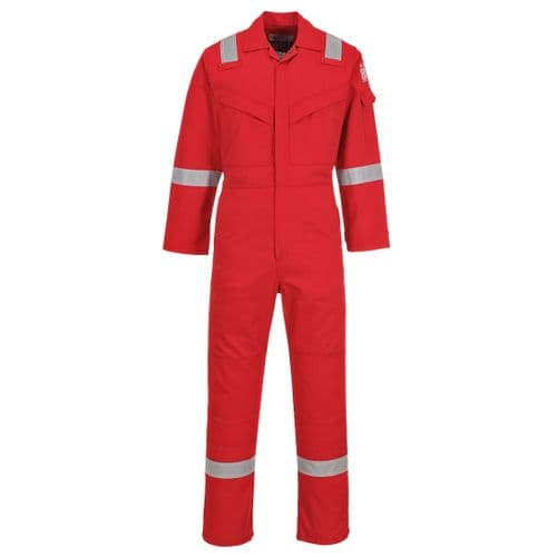 Flame Resistant Anti-Static Coverall 350g Red