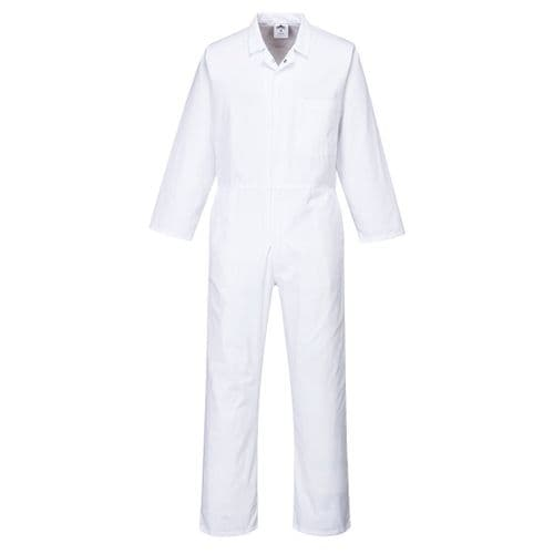 Food Coverall White