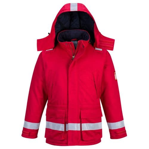 FR Anti-Static Winter Jacket Red