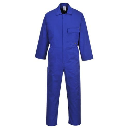 Standard Coverall Royal Blue