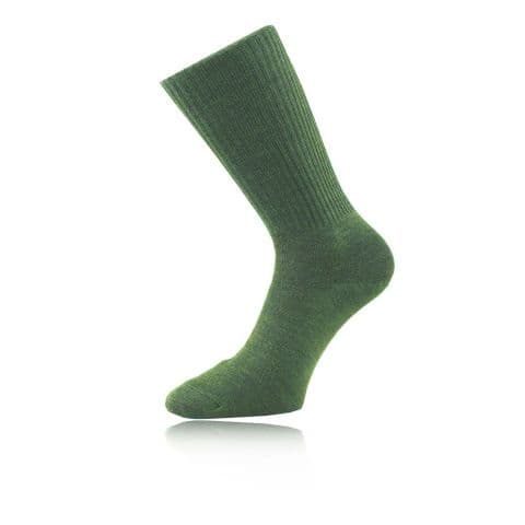 1000 Mile Combat Socks - Olive Green