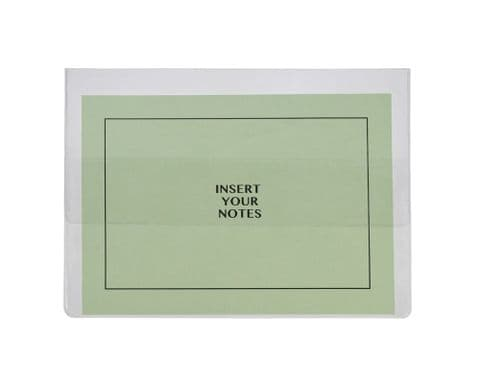A4 Clear Document Wallet - Pack of 100