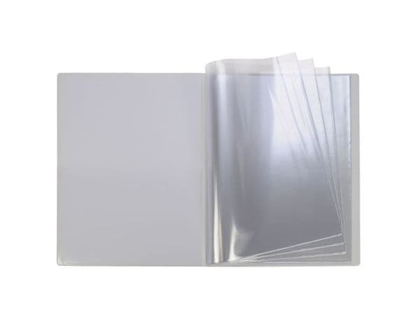 A4 Hard Cover Nyrex / Nirex Document Holder with Clear Front Pocket