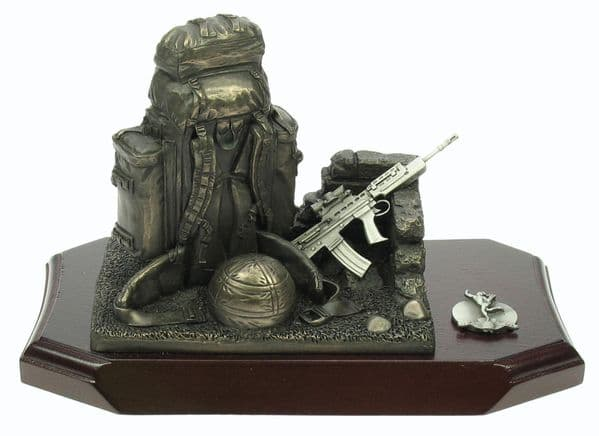 Bergen Patrol Pack and SA80 Statuette