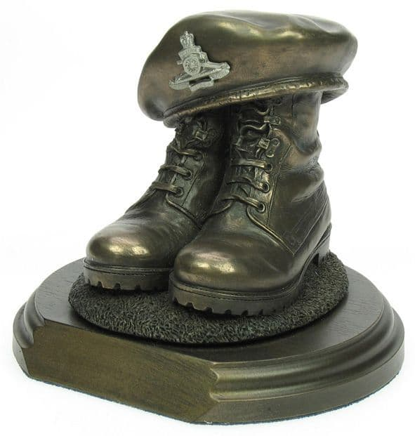 Boots and Beret Statuette