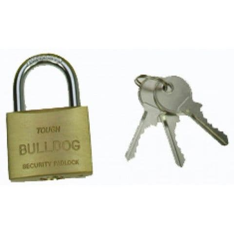 Bulldog 40mm Brass Padlock