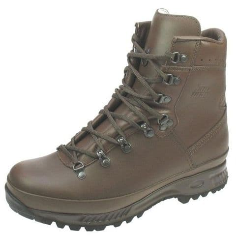 Hanwag Special Forces LX Boots - MOD Brown