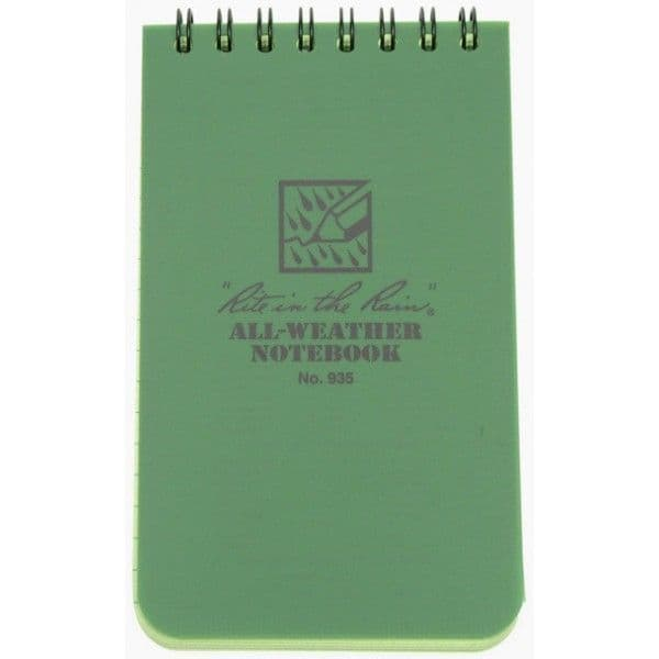 Rite in the Rain 3 x 5 All Weather Notebook