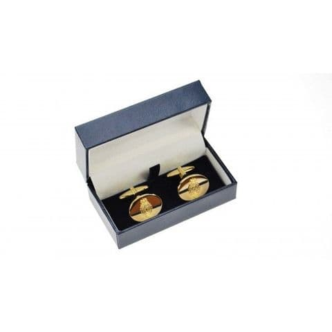 Royal Regiment of Fusiliers Gold Plated Cufflinks