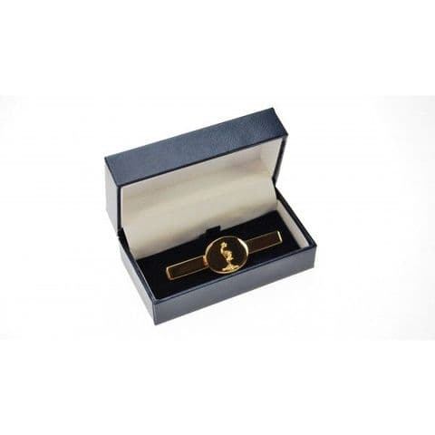Royal Signals Gold Plated Tie Slide