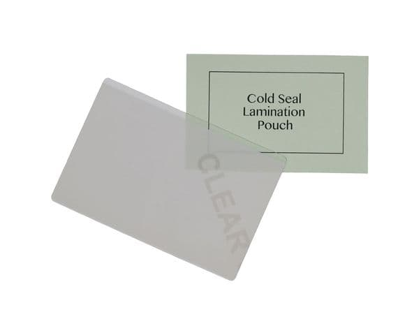 Self Seal / Cold Seal Lamination Pouches - Pack of 100