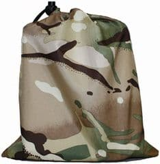 Small Multicam Stuff Sack (22cm x 19cm)